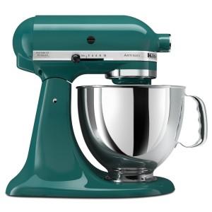 Teal KitchenAid Artisan Mixer (Bay Leaf)
