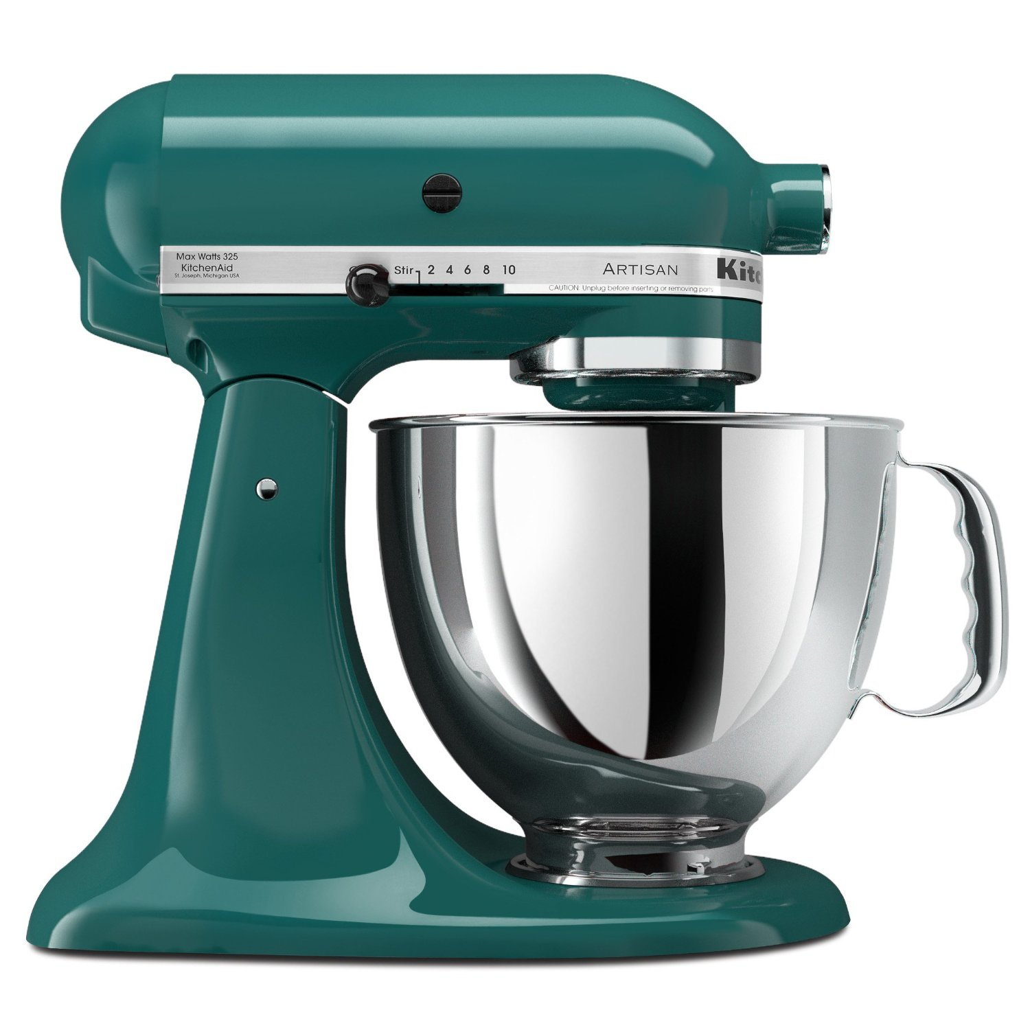 Teal KitchenAid Artisan Mixer (Bay Leaf)