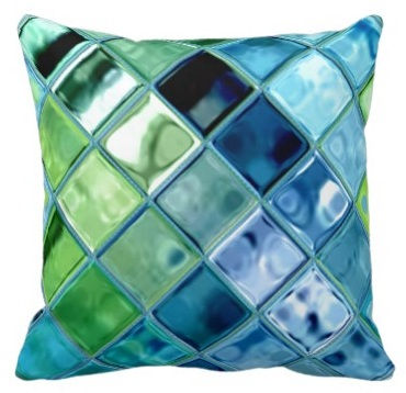 Use Teal Throw Pillows for that Seaside Look