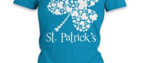 St. Patrick's Day t-shirt in teal