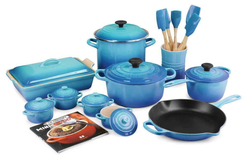 Le Creuset Caribbean Collection for Teal Lovers