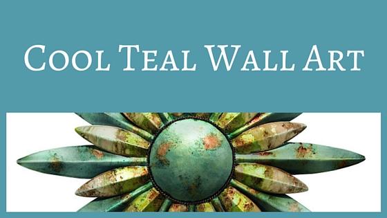 Cool Teal Wall Art