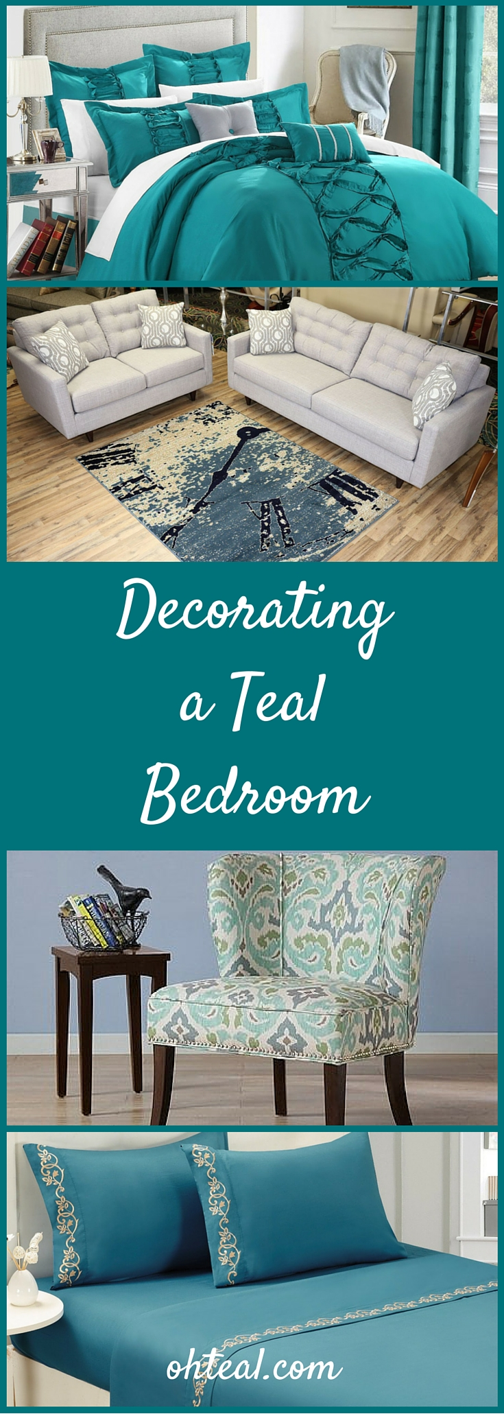 Decorating a Teal Bedroom