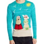 Teal Ugly Christmas Sweaters for Men and Women