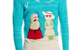 Ugly Christmas Sweaters in Teal