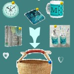 Create a Teal Housewarming Gift Basket