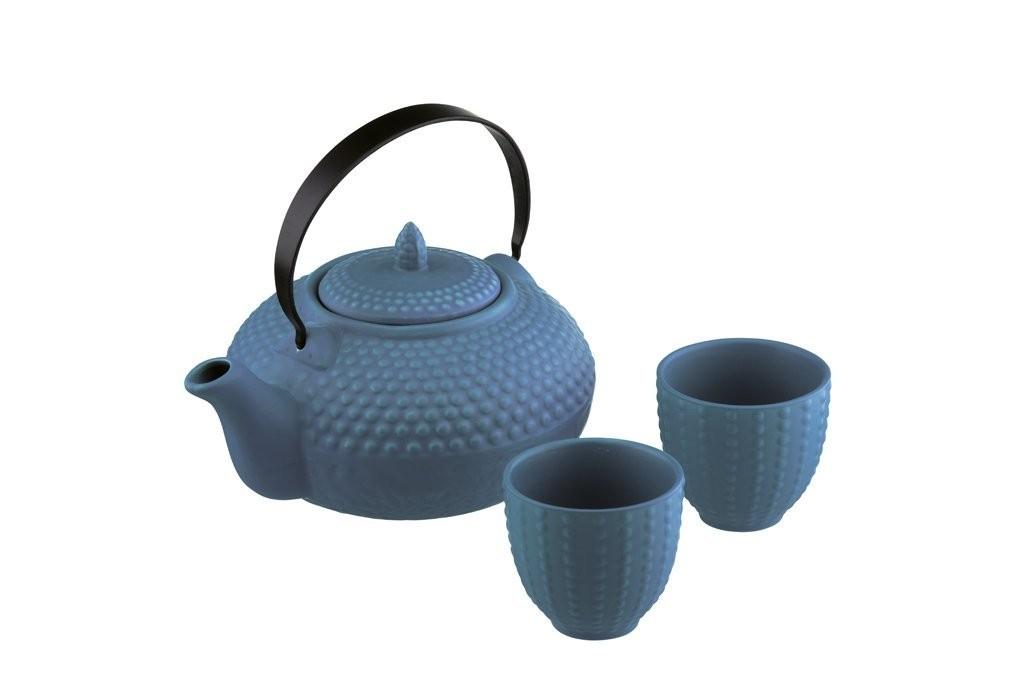 BIA Stoneware 24 Ounce Teapot Set