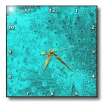 Teal Wall Clocks